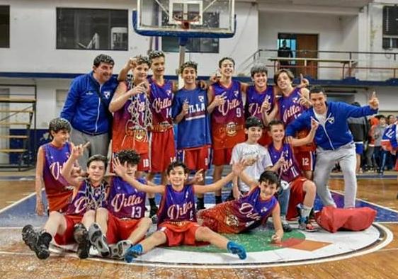 Villa U13 campeon