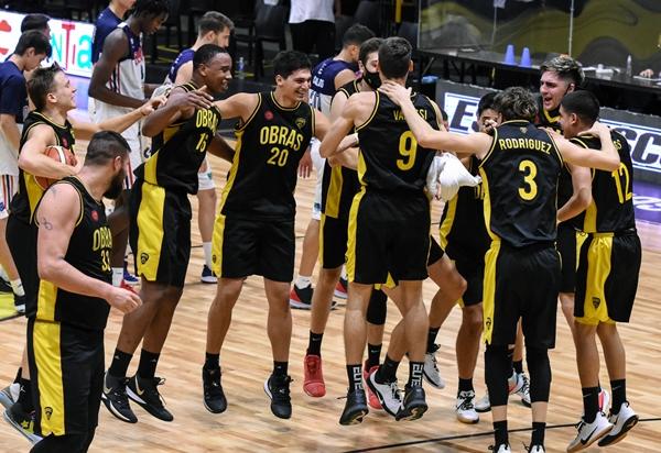 Obras Basket vs Quimsa